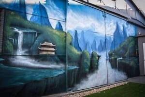 Mural Artist for Hire New Farm Brisbane North East Preview