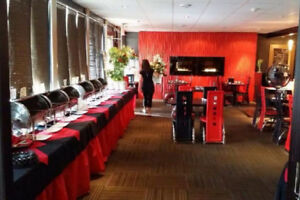 Fully equipped and furnished eating joint