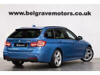2016 BMW 330D AUTO M SPORT TOURING SAT NAV HEATED SEATS LED LCI HEADLIGHTS ESTAT