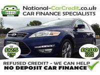 Ford Mondeo 2.0TDCI TITANIUM X BUSINESS ED 140PS Good / Bad Credit Car Finance (blue) 2013