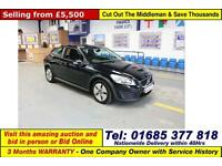 2010 - 10 - VOLVO C30 S DRIVE 1.6D 109PS 3 DOOR HATCHBACK (GUIDE PRICE)