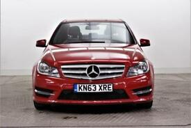 2013 Mercedes-Benz C Class C250 CDI BLUEEFFICIENCY AMG SPORT Diesel red Automati