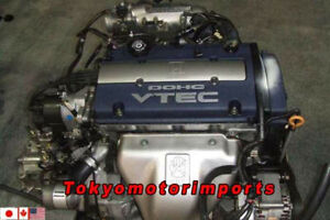 JDM HONDA H23A BLEU TOP VTEC ENGINE MT TRANSMISSION OBD2