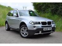 2008 BMW X3 2.0d SE 4x4 Titan Silver 79k miles £170 per month