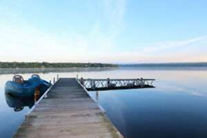 Price reduced - Waterfront cottage for rent - Upper Rideau Lake.