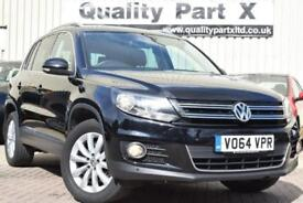 2014 Volkswagen Tiguan 2.0 TDI BlueMotion Tech Match Station Wagon DSG