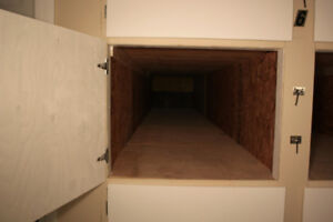 Extra Long Storage Lockers  for Ladders, Canoe or Misc Items