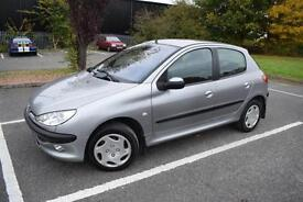 Peugeot 206 1.4HDi ( a/c ) 2003MY LX, with service history, cheap to run