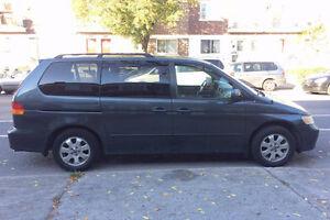 2003 Honda Odyssey Minivan, Van