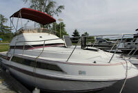 Carver Yacht Santego 27Ft Twin Mercs Low Mileage, $150,000 new!