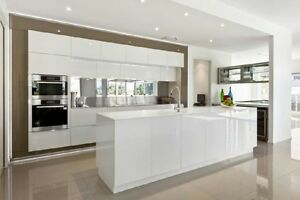 White Kitchens, custom colors available