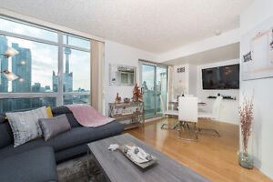 Furnished 2 Bed Suite Condo Toronto Downtown Core
