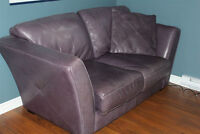 Fauteuil en cuir / Leather couch /Sofa