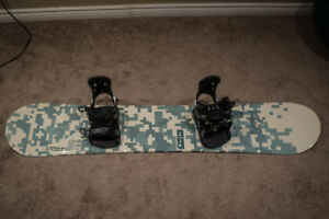 5150 XPath Snowboard with Performance Bindings