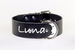 PERSONALIZED LEATHER COLLARS