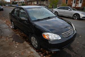 2004 Toyota Corolla automatique, très propre, 1er propriétaire West Island Greater Montréal image 5