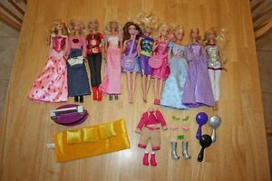 Lot of Barbies and accessories Cambridge Kitchener Area image 1