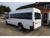 2012 Ford Transit 17 seater Minibus 2.2TDCi 135PS EU5 RWD 430EL HDT Med Roof LWB