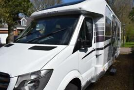Auto Sleeper Burford Duo Motorhome for Sale Low Profile Twin Single Beds