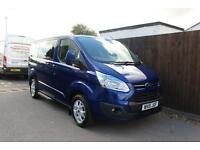 Ford Tourneo Custom Limited 2.2TDCi 125PS SWB 8 Seater + Auto Stop Start- Onsite