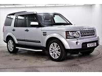 2010 Land Rover Discovery 4 TDV6 HSE Diesel silver Automatic