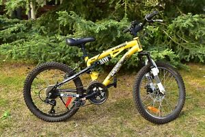 "Boys 20"" Kranked Mountain Bike for sale"