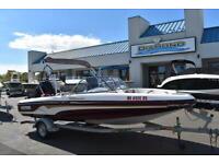 2003 Tracker 188 Fish & Ski  115 HP Mercury , Newer Trailer