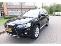 SOLD 2011 Mitsubishi Outlander 2.2 DI-D Auto 7 seater Left hand drive lhd UK Reg