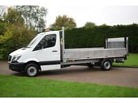 Mercedes Benz Sprinter Dropside with 500kg tail lift