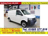 2015 - 64 - VOLKSWAGEN TRANSPORTER T28 2.0TDI 84PS SWB VAN (GUIDE PRICE)