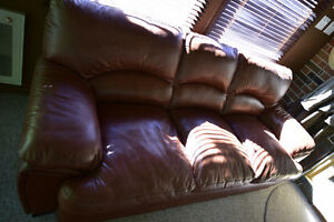 Hand Crafted leather couch