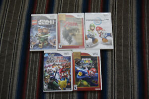 Wii games for Sale Price in Description