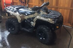 2013 Can-Am Outlander XT 1000 -only 70klm!