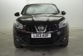 2013 Nissan Qashqai TEKNA PLUS 2 Petrol black CVT