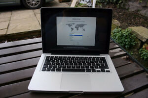 """MacBook Pro Mid-2012 13"""" w/ 2 chargers, case and earbuds"""