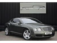 2005 Bentley Continental GT W12 Cypress Green + Porpoise Main Hide +Piano Black