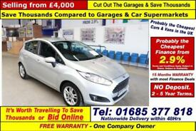 2014 - 14 - FORD FIESTA ZETEC 1.5TDCI 5 DOOR HATCHBACK (GUIDE PRICE)
