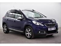 2014 Peugeot 2008 E-HDI FELINE MISTRAL Diesel blue Manual