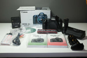 Canon 5D Mark III body with 13k shutter count