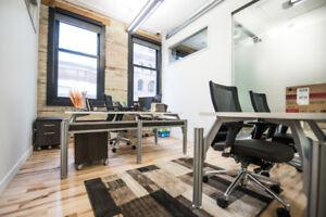 Bureau 4000 pi carres a sous-louer / 4000 sq ft office to sublet