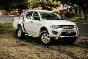 2011 MITSUBISHI TRITON  GL-R MN MY11 DIESEL TURBO  2.5L 4 SP AUTOMATIC Welshpool Canning Area Preview