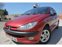 PEUGEOT 206 GLX 2.0 HDI DIESEL 5 DOOR*ONE OWNER*SERVICE HISTORY*CHEAP DIESEL*