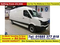 2015 - 15 - VOLKSWAGEN CRAFTER CR35 2.0TDI 136PS LWB HI TOP VAN (GUIDE PRICE)
