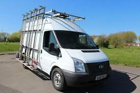 Ford Transit 2.2TDCi 100PS RWD 350 MWB High Roof Glass Frail Diesel Van £8,995