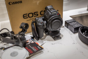 Canon EOS C100 Cinema Mk 1 camera