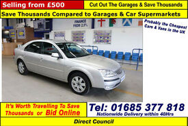 2004 - 54 - FORD MONDEO ZETEC 2.0TDCI 4 DOOR SALOON (GUIDE PRICE)