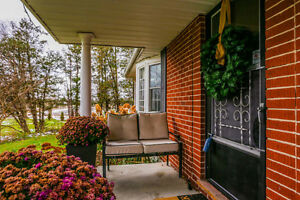 Solid brick bungalow on 2.36 acres within the City limits London Ontario image 9