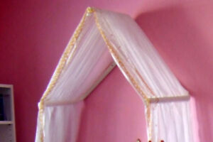 children's bed canopy x2