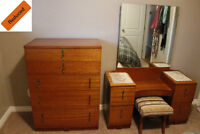 Reduced - Make-up Vanity and matching Chiffonier