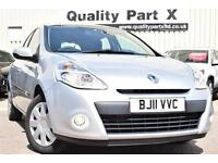 2011 Renault Clio 1.5 dCi FAP Expression Eco Pack 5dr